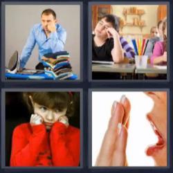 Respuesta ocho letras aburrido