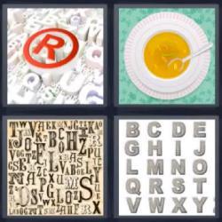 Respuesta ocho letras alfabeto