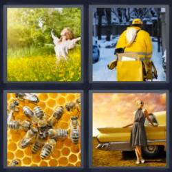 Respuesta ocho letras amarillo