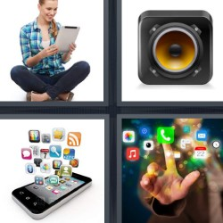 tres letras aplicaciones móviles teléfono