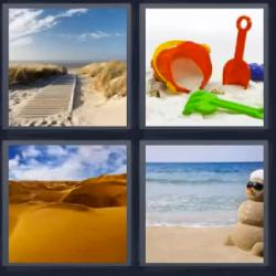 4 fotos 1 palabra desierto