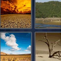 4 fotos 1 palabra desiertos