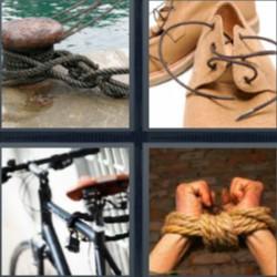 4 fotos 1 palabra cordones