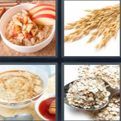 4 fotos 1 palabra cereales desayuno