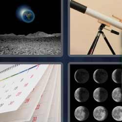 4 fotos 1 palabra telescopio
