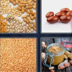 4 fotos 1 palabra cacahuate