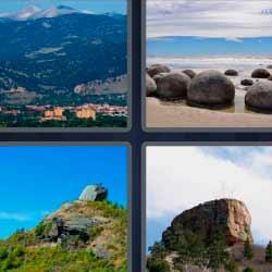 4 fotos 1 palabra piedra