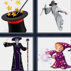 4fotos 1palabra sombrero de mago