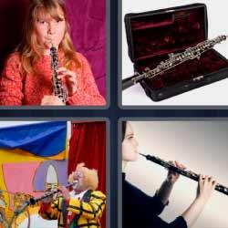 4 Fotos 1 Palabra Instrumento de viento flauta