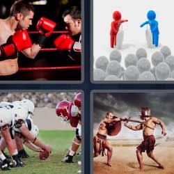 4fotos 1palabra boxeo rugby gladiadores