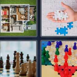 4 fotos 1 palabra puzzle ajedrez