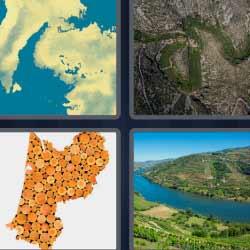 4 fotos 1 palabra ríos corchos