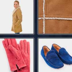 4 fotos 1 palabra guantes zapatos mujer con abrilo