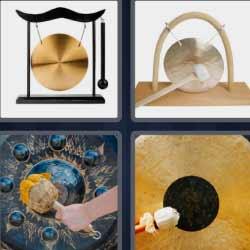 4 fotos 1 palabra platillo dorado