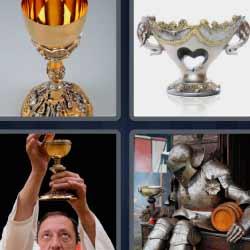 4 fotos 1 palabra copa dorada