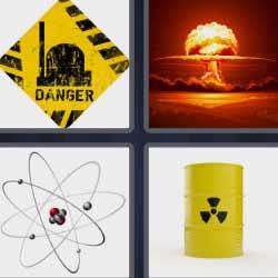 4 fotos 1 palabra átomo